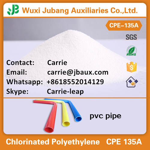 Cpe Cm Powder Chlorinated Polyethylene For Pvc Pipe