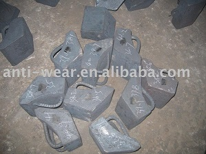 Cr Mo Alloy Steel Castings Used In Composite Rubber
