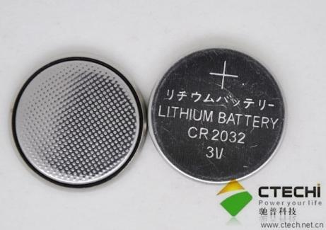 Cr2032 3v Lithium Button Battery