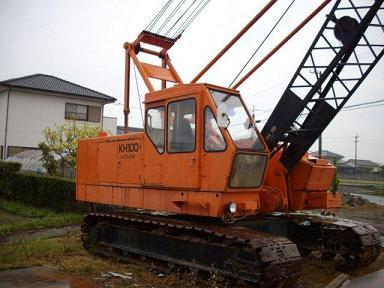 Crawler Crane Hitachi Kh100 1