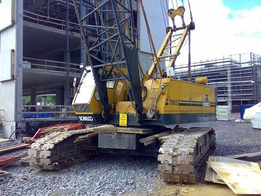 Crawler Crane Kobelco 7065