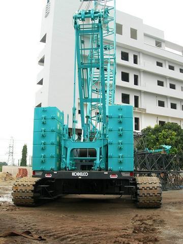 Crawler Crane Kobelco Ckf 1800