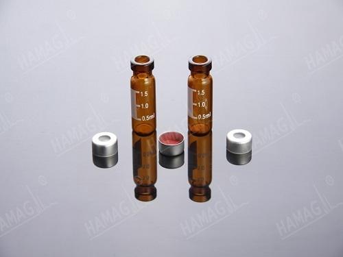 Crimp Top Vials Aluminum Caps And Septa Wide Opening Nd11