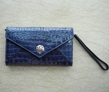 Crocodile Clutch Wallet