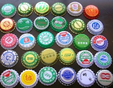 Crown Cola Glass Bottle Cap