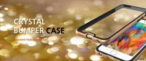 Crystal Bumper Frame Case