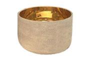 Crystal Singing Bowl Golden