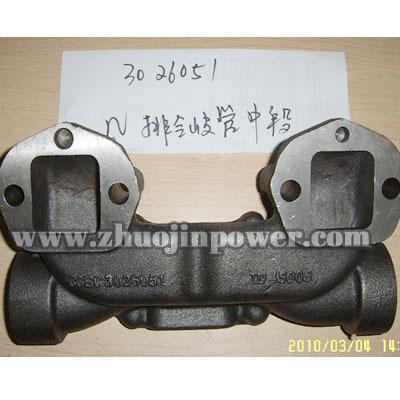 Cummins Engine Part 3026051 Exhaust Manifold For Kta19