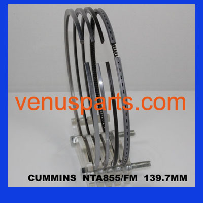 Cummins Nt855 Nh250 Spare Parts Piston Ring 3801056 4089810 3801755 4089811