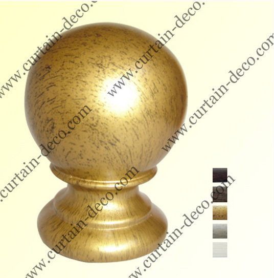 Curtain Pole Finials Made Out Of Resin