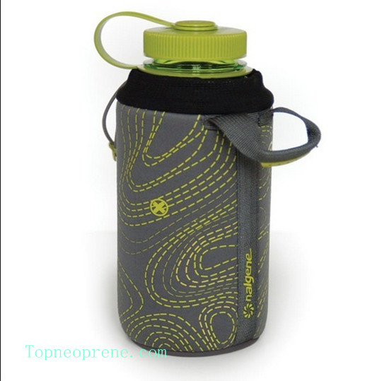 Custom Insulated Neoprene Water Bottle Sleeve Cover Holder