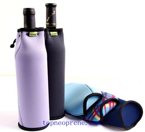 Custom Neoprene Bottle Wine Tote Sleeve Case Bag