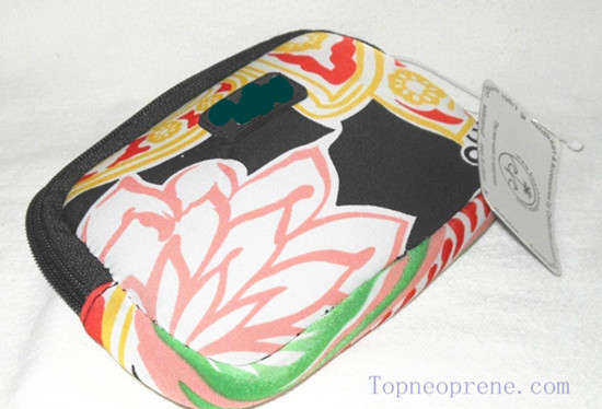 Custom Neoprene Cell Phone Camera Cosmetic Case Bag Pouch Cover Holder