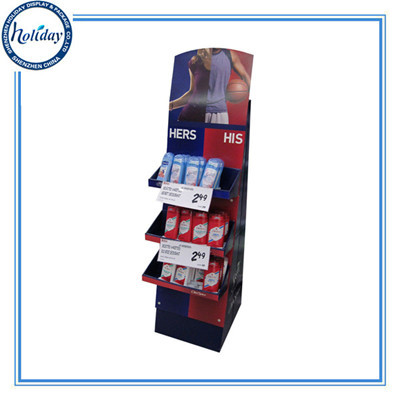 Custom Print Factory Price Store Display Shelf High Quality Cardboard Super