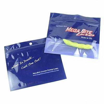 Custom Printed Fishing Bait Ziplock Bag