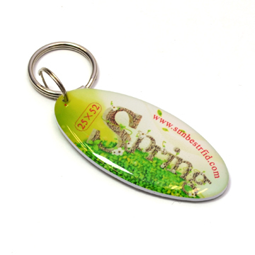 Custom Rfid Smart Epoxy Weterproof Keytags