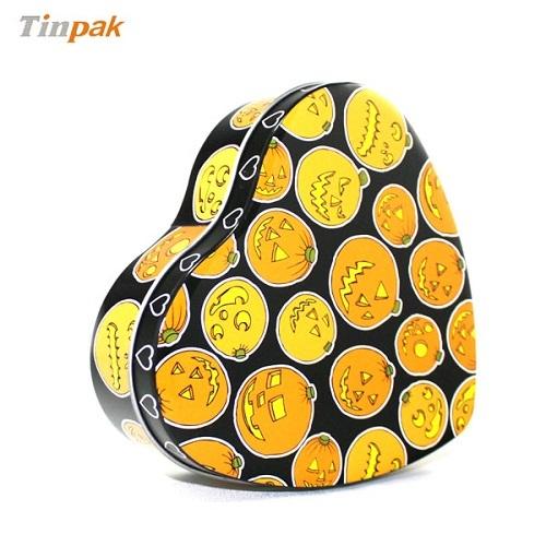Customized Heart Shape Cheap Metal Chocolate Packaging