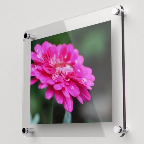 Customized High Quality Acrylic Wall Picture Frame