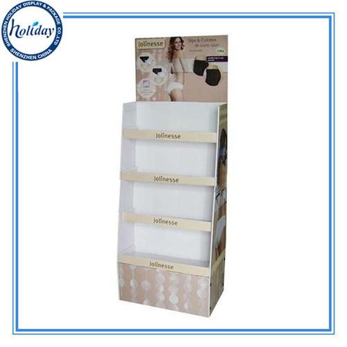 Customized Wholesale Tall Floor Cardboard Step Display