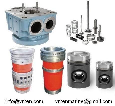 Cylinder Head Liner Piston