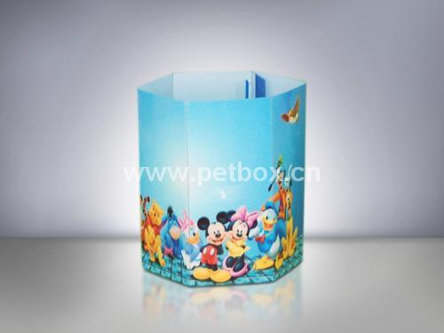 Cylinder Plastic Box