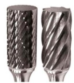 Cylindrical A Tungsten Carbide Burrs Rotary