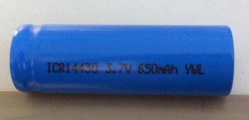 Cylindrical Li Ion Battery Icr14430
