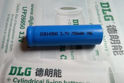 Cylindrical Li Ion Battery Icr14500