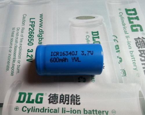 Cylindrical Li Ion Battery Icr14630