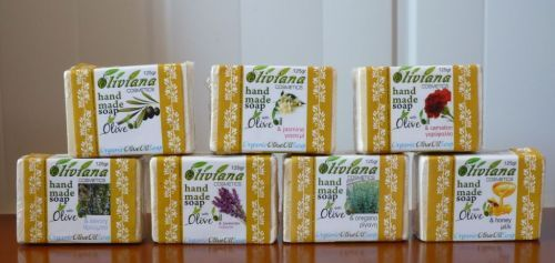 Cypriot Natural Cosmetics Hand Made Soaps With Organic Olive Oil