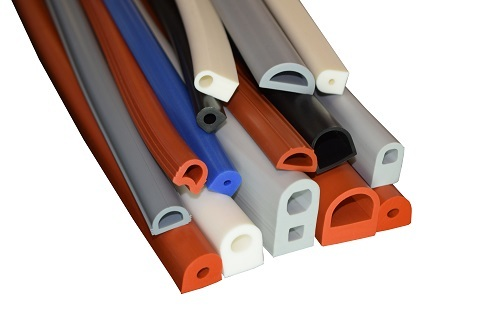 D Shaped Silicone Rubber Gaskets