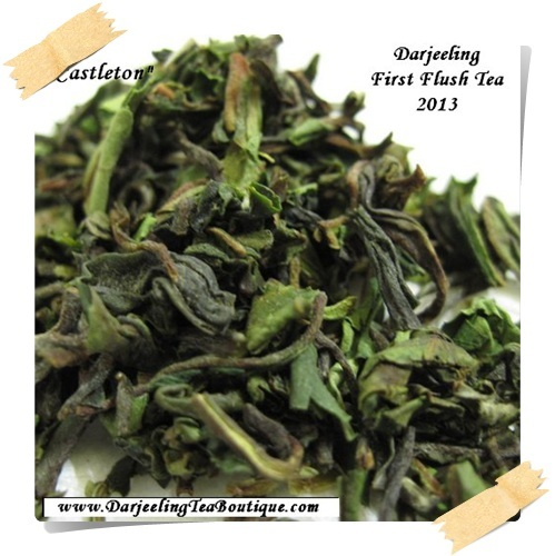 Darjeeling 1st Flush Tea Castleton Special Black