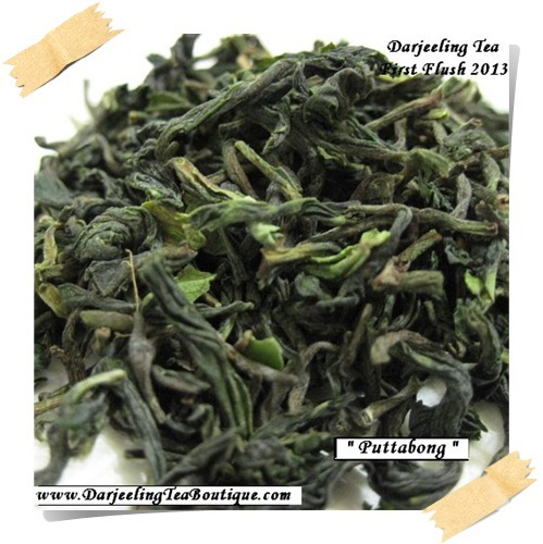 Darjeeling 1st Flush Tea Puttabong Black