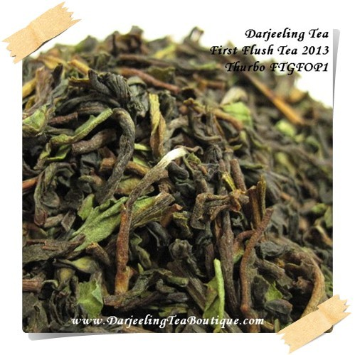 Darjeeling 1st Flush Tea Thurbo Black