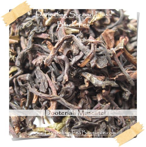 Darjeeling Second Flush Tea Dooteriah Black