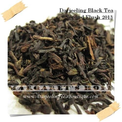 Darjeeling Second Flush Tea Margaret S Hope Black