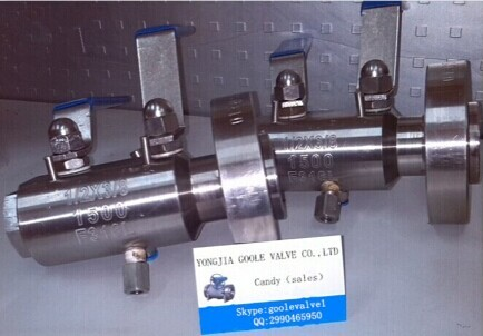 Dbb Ball Valve Stainless Steel