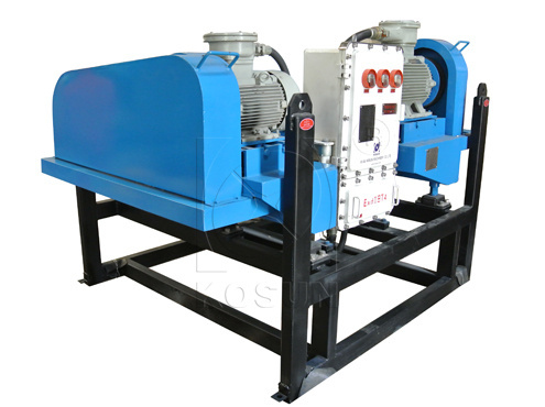 Decanter Centrifuge Solids Control Equipment Used On Drilling Rigs