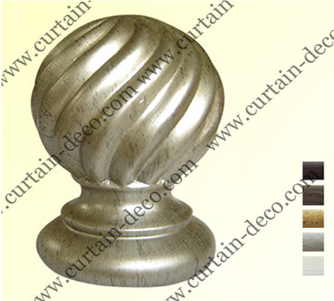 Decorative Curtain Rod And Finial