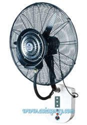 Deeri Wall Mounted Misting Fan With Rain Protection And Remote Control Type