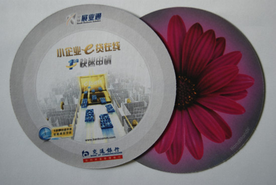 Deluxe Colored Mouse Mat With Any Shape