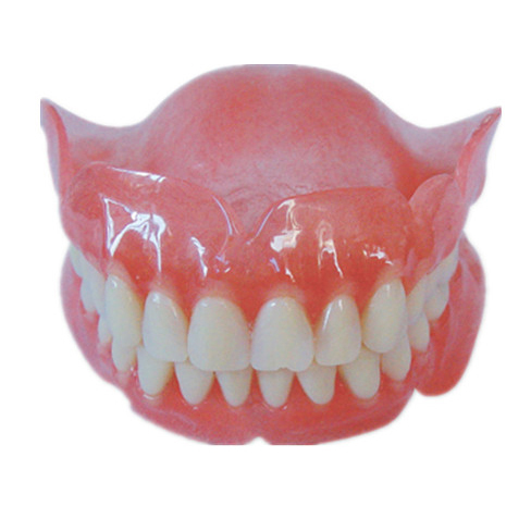 Dental Removable Full Acrylic Resin Teeth Lower Or Upper Denture Ad