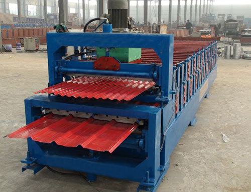 Description Of Double Layer Roll Forming Machine
