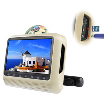 Detachable Headrest Dvd Wholesale 8inch With Bracket Monitor
