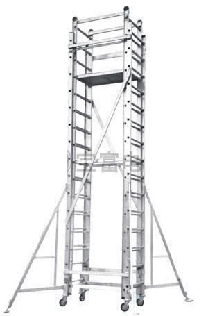 Detachable Platform And Extension Ladder