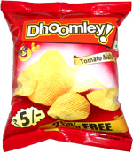 Dhoomley Tomato Flavored Potato Chips
