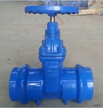 Di Gate Valve For Pvc Pipes Dn100mm Tube Size 110mm