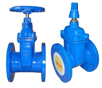 Di Resilient Seated Gate Valve F4 Dn100 Pn10 Small Type