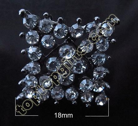 Diamond Rhinestone Button 2012 Fashion Garment Accessories
