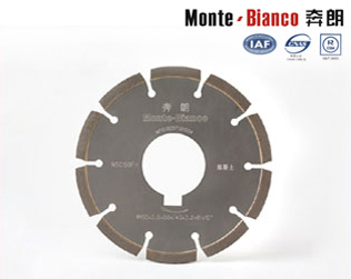 Diamond Saw Blades For Non Slip Surface Pattern Circular Cutting Disc